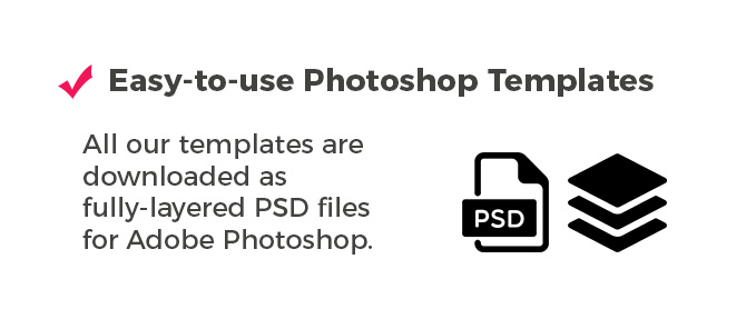 Photoshop PSD Photo Booth Templates