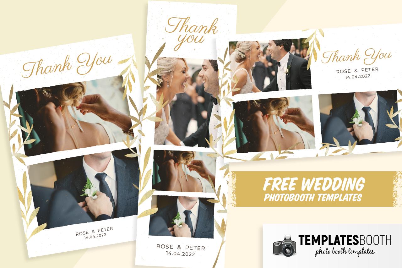 Free Wedding Photo Booth Templates
