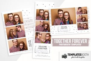 Together Forever Photo Booth Template