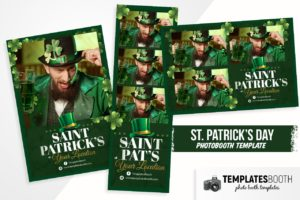 Saint Patrick's Day Photo Booth Template
