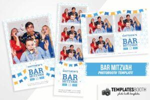 Bar Mitzvah Photo Booth Template