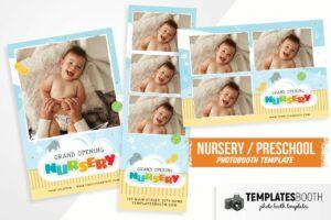 Nursery Photo Booth Template