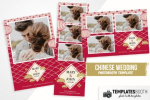 Chinese Wedding Photo Booth Template