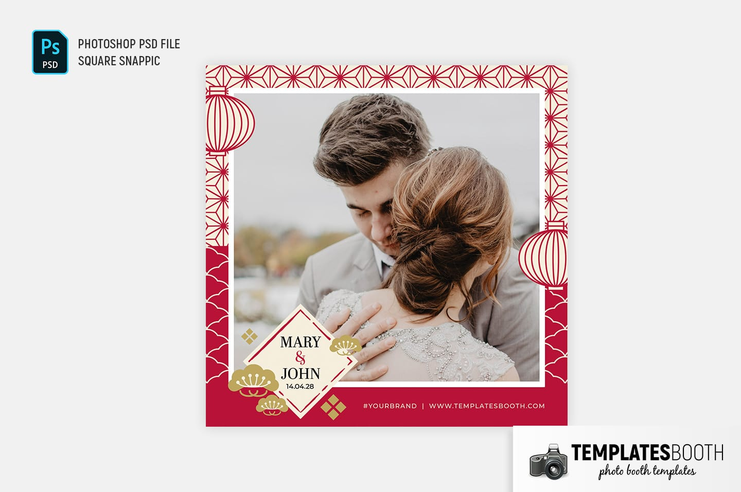 Chinese Wedding Photo Booth Template (Snappic)