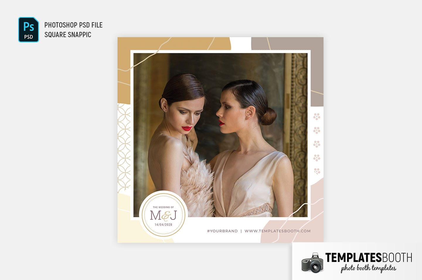 Fashionista Photo Booth Template
