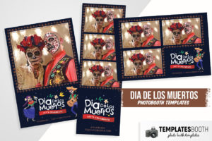 Day of The Dead Photo Booth Template