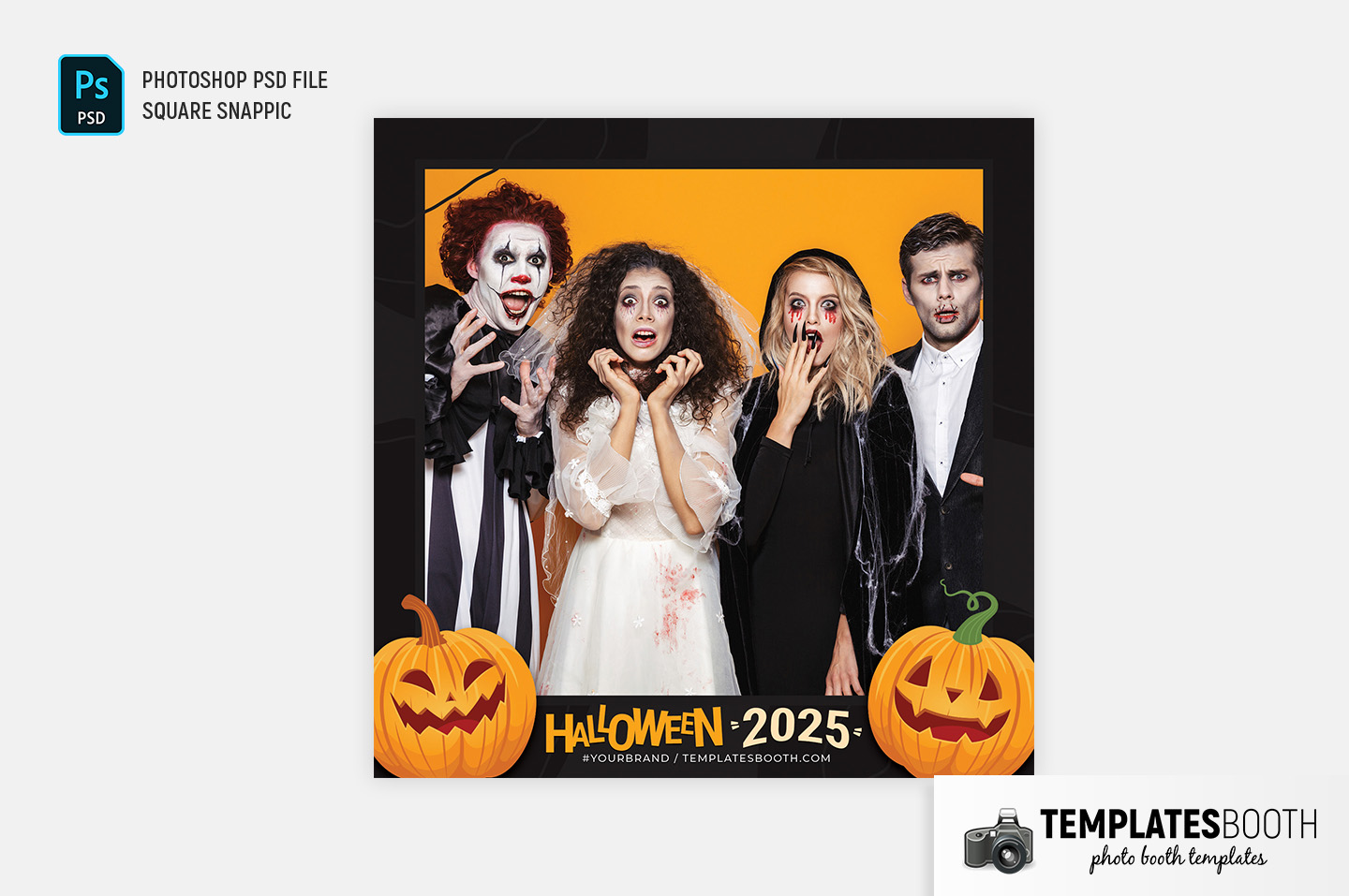 Halloween Party Photo Booth Template (Snappic)