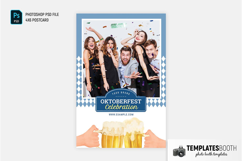 Bavarian Oktoberfest Photo Booth Template (PSd, PNG & DSLR Booth)