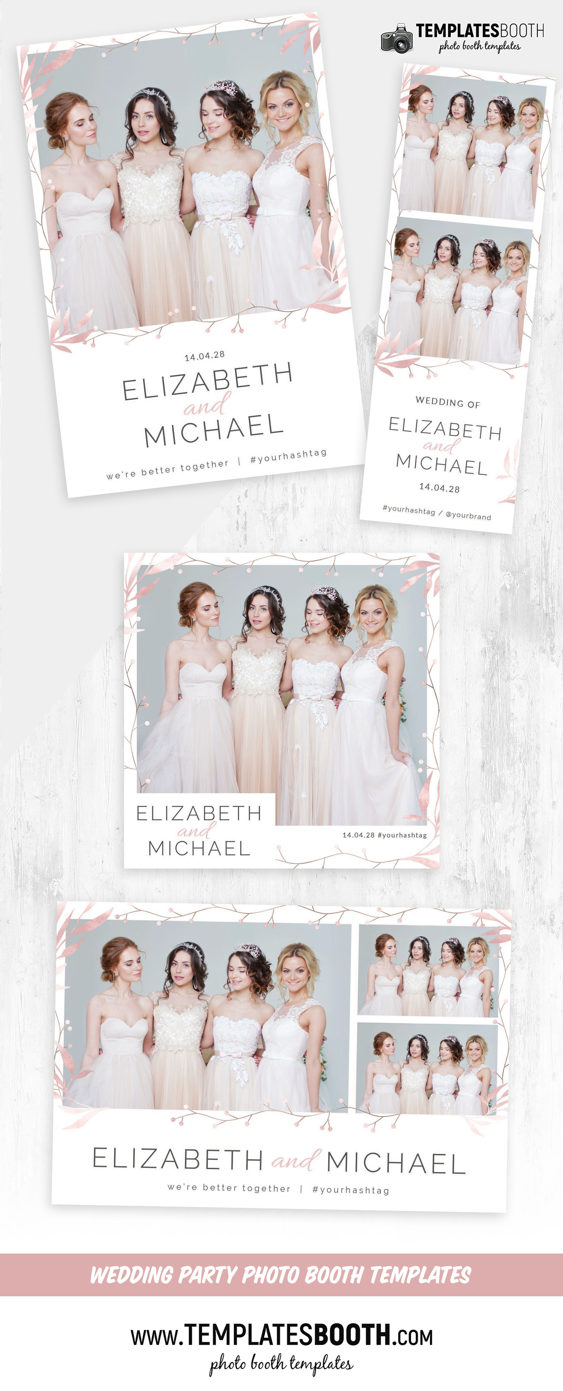 Simple Minimal Photo Booth Layout