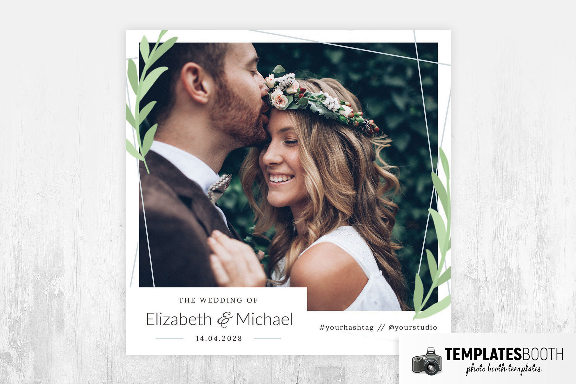 Simple Minimal Photo Booth Template