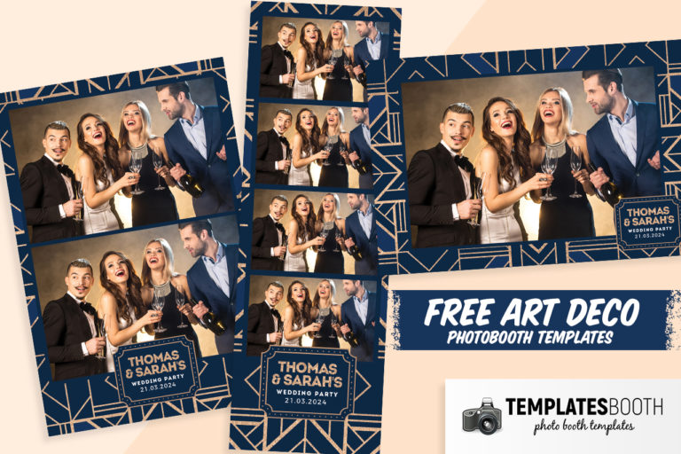 Free Art Deco Photo Booth Templates