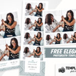Free Elegant Wedding Photo Booth Templates