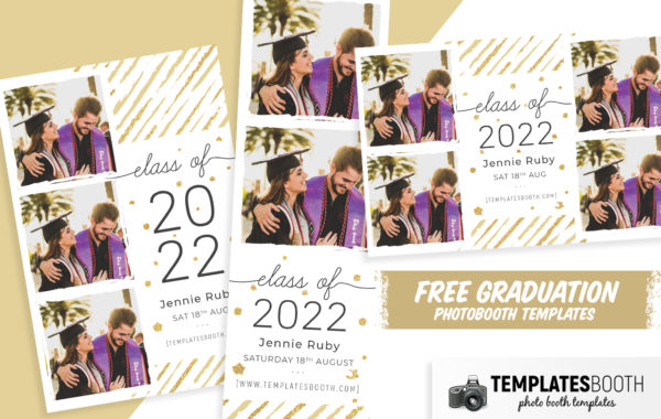Free Graduation Photo Booth Template