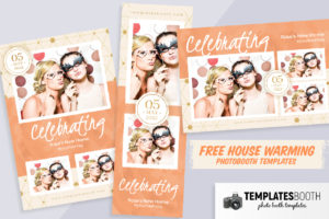 Free House Warming Photo Booth Templates