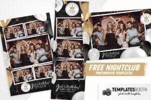 Free Nightclub Photo Booth Templates