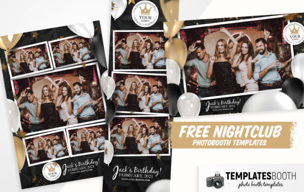 Free Nightclub Photo Booth Templates
