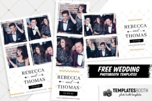 Free Wedding Photo Booth Template