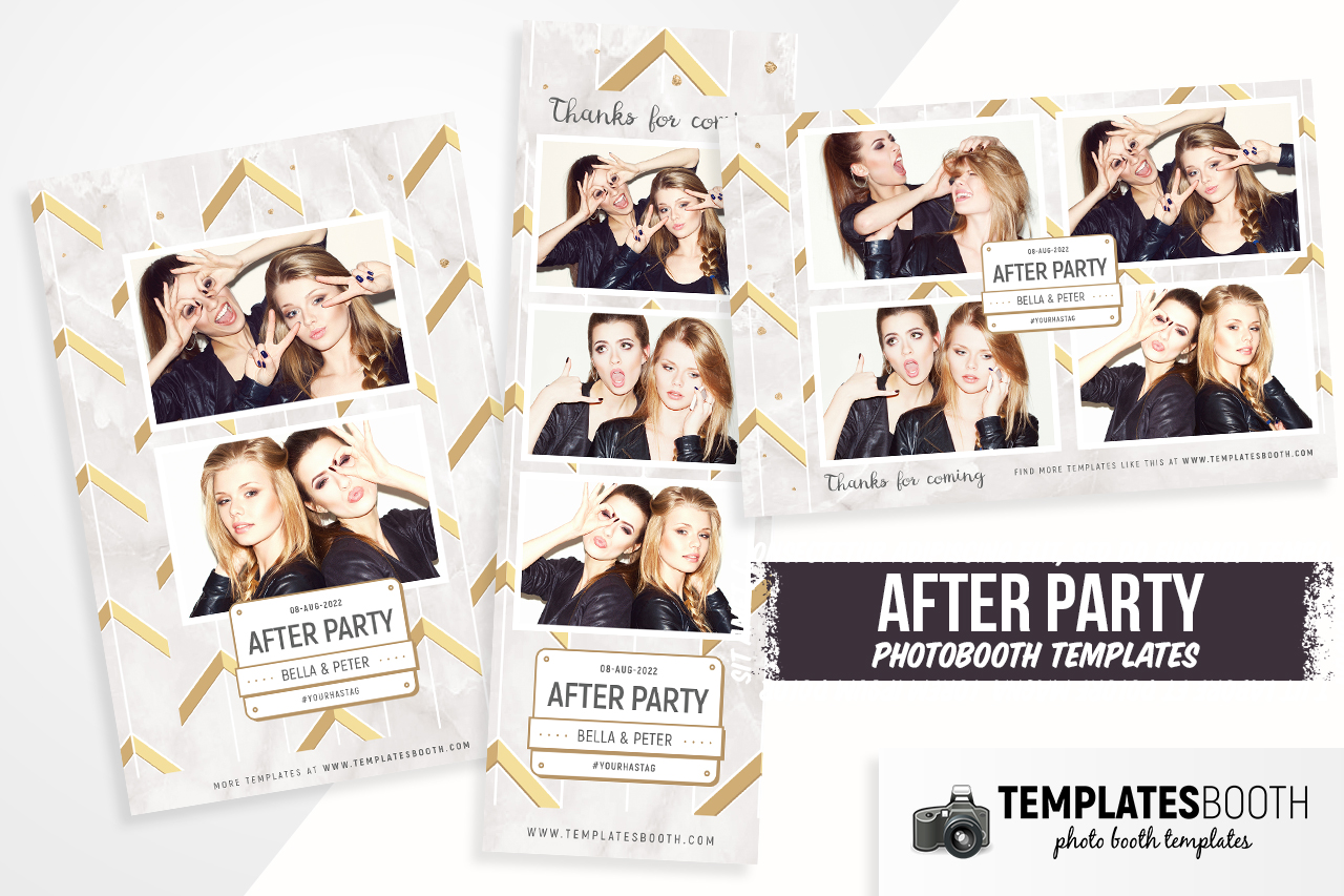 After Party Phoot Booth Template