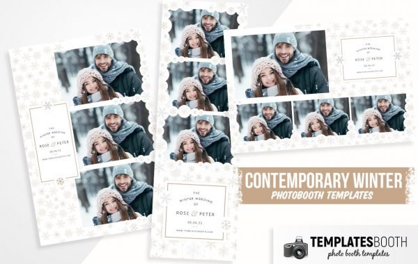 Contemporary Winter Photo Booth Template