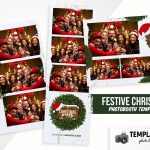 Festive Christmas Photo Booth Template