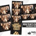 New Year's Eve Photo Booth Template