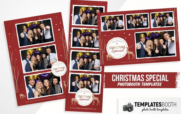 Christmas Special Photo Booth Template