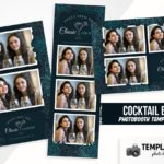 Cocktail Bar Photo Booth Template