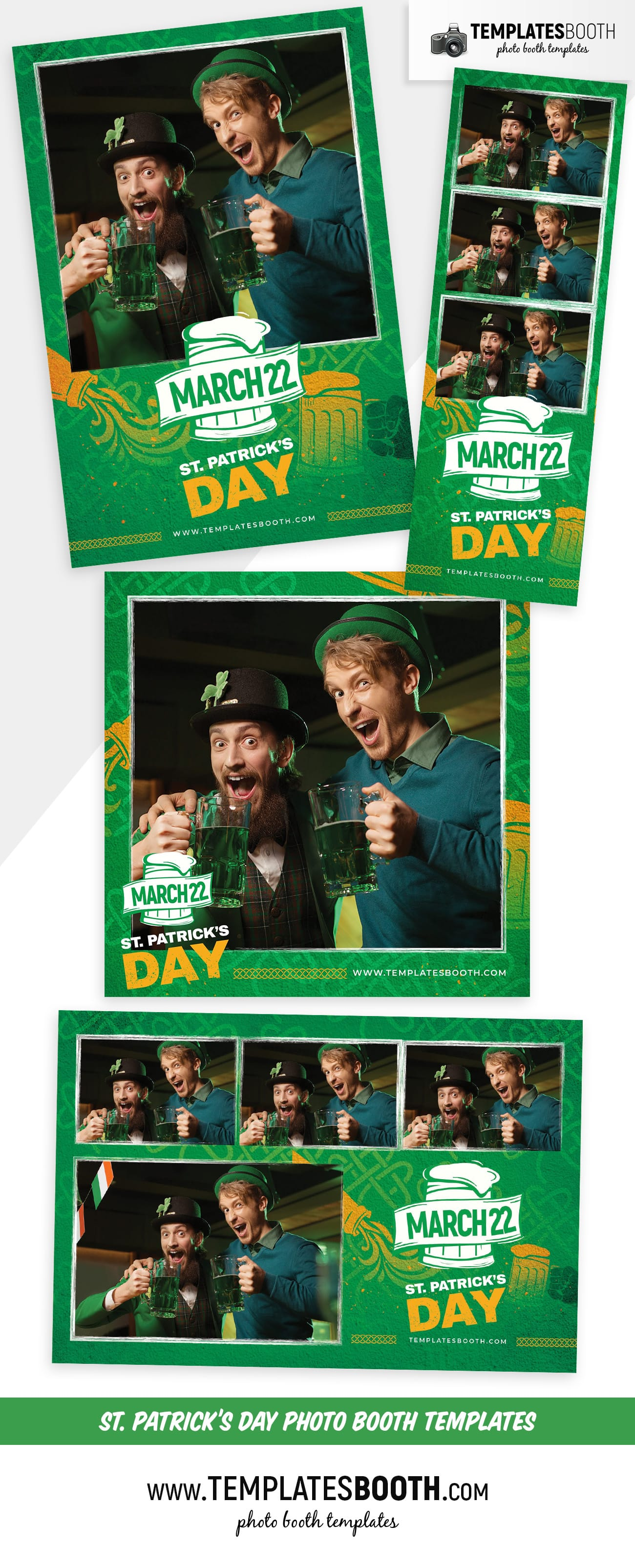 St. Patrick's Day Photo Booth Template Vol.4 (preview)