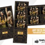 Art Deco Party Photo Booth Template