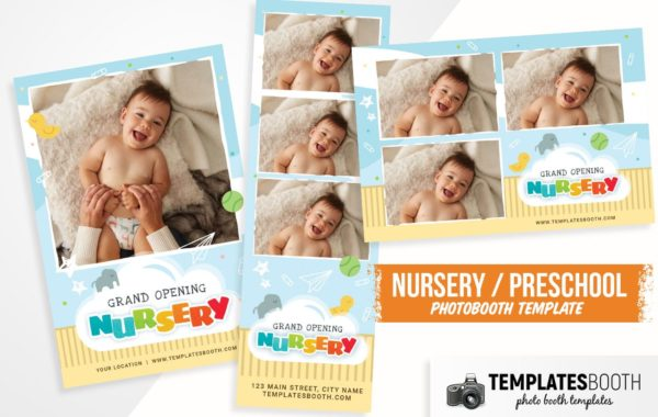 Nursery Photo Booth Template