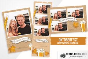 Oktoberfest Photo Booth Template