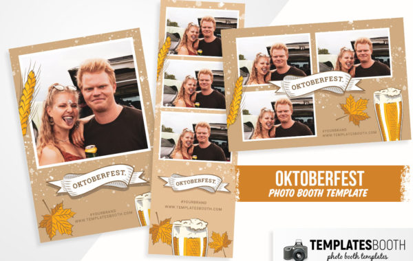 Oktoberfest Photo Booth Template