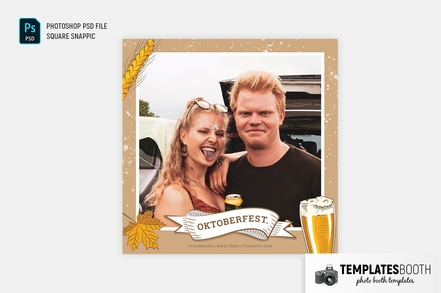 Oktoberfest Photo Booth Template (Snappic)