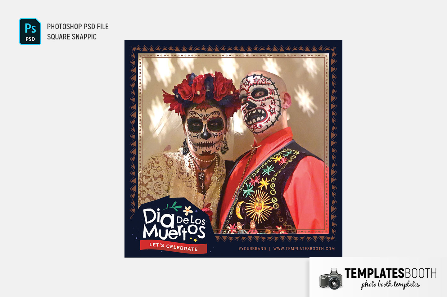 Day of The Dead Photo Booth Template (Snappic)