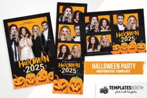 Halloween Photo Booth Template