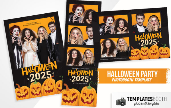 Halloween Photo Booth Template