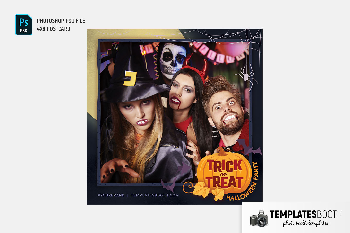 Trick or Treat Photo Booth Template (Snappic)