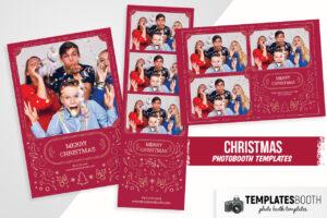 Christmas Photo Booth Template