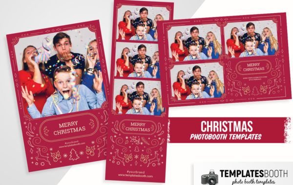 Christmas Photo Booth Template