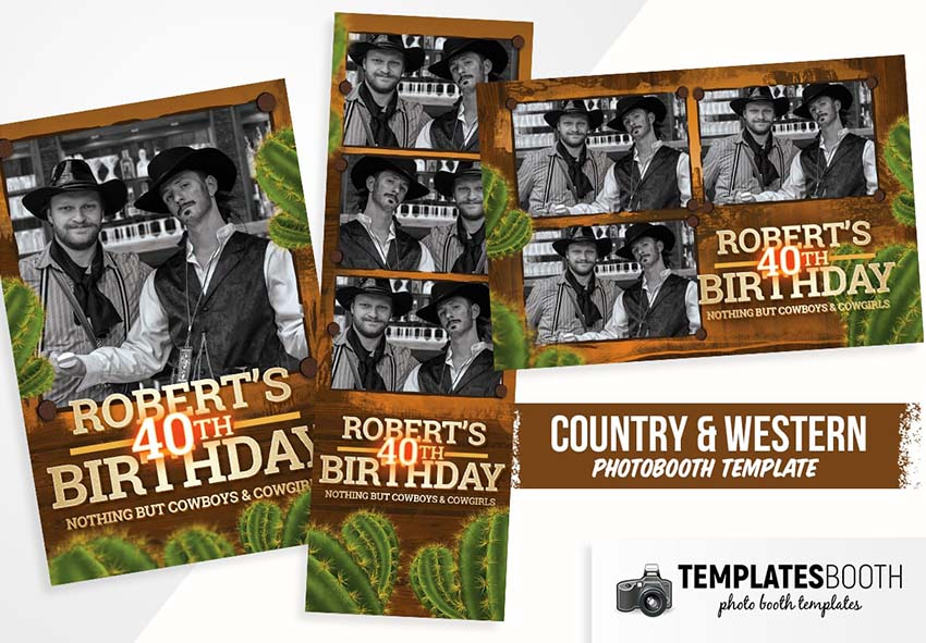 country-western-photo-booth-template