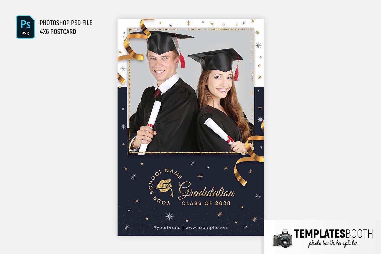 Graduation Photo Booth Template